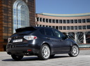 Фото авто Subaru Impreza 3 поколение, ракурс: 225 цвет: черный