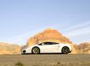 Фото авто Lamborghini Gallardo 1 поколение, ракурс: 90 цвет: белый
