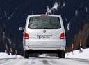 Фото авто Volkswagen Multivan T5 [рестайлинг], ракурс: 180 цвет: серебряный