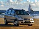 Фото авто Chevrolet Zafira 1 поколение [рестайлинг], ракурс: 315