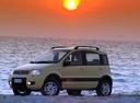 Фото авто Fiat Panda 2 поколение, ракурс: 90 цвет: желтый