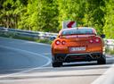 Фото авто Nissan GT-R R35 [3-й рестайлинг], ракурс: 180 цвет: оранжевый