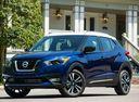 Фото авто Nissan Kicks P15, ракурс: 45 цвет: синий