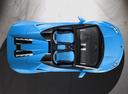 Фото авто Lamborghini Huracan 1 поколение, ракурс: сверху цвет: голубой