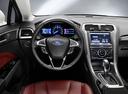 Фото авто Ford Mondeo 5 поколение, ракурс: рулевое колесо