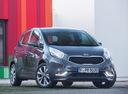 Фото авто Kia Venga 1 поколение [рестайлинг], ракурс: 315 цвет: синий