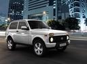 Фото авто ВАЗ (Lada) 4x4 1 поколение [2-й рестайлинг], ракурс: 315 цвет: белый