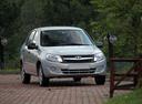 Фото авто ВАЗ (Lada) Granta 1 поколение,  цвет: серебряный