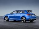 Фото авто Audi RS 3 8VA [рестайлинг], ракурс: 135 цвет: синий
