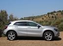 Фото авто Mercedes-Benz GLA-Класс X156 [рестайлинг], ракурс: 270 цвет: серебряный