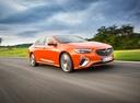 Фото авто Opel Insignia B, ракурс: 315 цвет: оранжевый