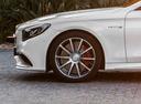 Фото авто Mercedes-Benz S-Класс W222/C217/A217, ракурс: колесо цвет: серебряный