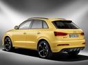 Фото авто Audi RS Q3 8U, ракурс: 135 цвет: желтый