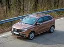 Фото авто ВАЗ (Lada) XRAY 1 поколение, ракурс: 45 цвет: коричневый