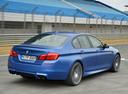 Фото авто BMW M5 F10 [рестайлинг], ракурс: 225 цвет: синий