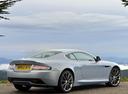 Фото авто Aston Martin DB9 1 поколение [2-й рестайлинг], ракурс: 225 цвет: серый