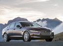 Фото авто Jaguar XF X260, ракурс: 315 цвет: черный