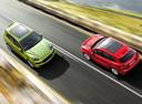 Фото авто Porsche Cayenne 958, ракурс: сверху цвет: салатовый