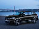 Фото авто BMW X2 F39, ракурс: 45 цвет: черный