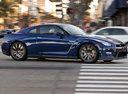 Фото авто Nissan GT-R R35 [2-й рестайлинг], ракурс: 270 цвет: синий