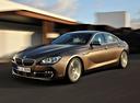 Фото авто BMW 6 серия F06/F12/F13 [рестайлинг], ракурс: 45 цвет: коричневый