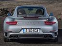 Фото авто Porsche 911 991, ракурс: 180 цвет: серебряный