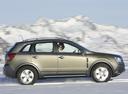 Фото авто Opel Antara 1 поколение, ракурс: 270 цвет: салатовый