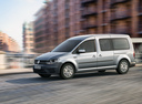 Фото авто Volkswagen Caddy 4 поколение, ракурс: 45 цвет: серебряный