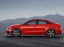 Фото авто Audi RS 3 8VA [рестайлинг], ракурс: 90 цвет: красный
