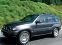 Фото авто BMW X5 E53, ракурс: 45 цвет: мокрый асфальт