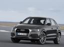 Фото авто Audi Q3 8U [рестайлинг], ракурс: 45 цвет: серый
