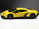 Фото авто Lamborghini Aventador 1 поколение, ракурс: 90 цвет: желтый