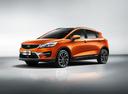 Фото авто Geely GS 1 поколение, ракурс: 45 цвет: оранжевый