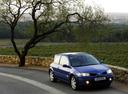 Фото авто Renault Megane 2 поколение [рестайлинг], ракурс: 315 цвет: синий