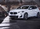 Фото авто BMW X2 F39, ракурс: 45 цвет: белый