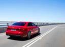 Фото авто Audi A4 B9, ракурс: 225 цвет: красный