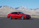 Фото авто Infiniti Q50 1 поколение [рестайлинг], ракурс: 315 цвет: красный