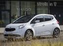 Фото авто Kia Venga 1 поколение [рестайлинг], ракурс: 45 цвет: белый