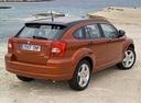 Фото авто Dodge Caliber 1 поколение, ракурс: 225 цвет: оранжевый