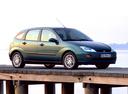 Фото авто Ford Focus 1 поколение, ракурс: 315 цвет: зеленый