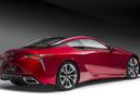 Фото авто Lexus LC 1 поколение, ракурс: 225 цвет: красный