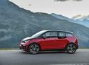Фото авто BMW i3 I01 [рестайлинг], ракурс: 90 цвет: красный