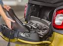 Фото авто Smart Fortwo 3 поколение, ракурс: багажник цвет: желтый