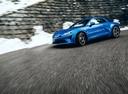Фото авто Alpine A110 2 поколение, ракурс: 45 цвет: голубой
