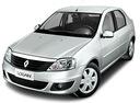 Фото авто Renault Logan 1 поколение [рестайлинг], ракурс: 45 цвет: серебряный