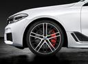 Фото авто BMW 6 серия G32, ракурс: колесо цвет: белый