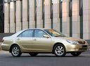 Фото авто Toyota Camry XV30 [рестайлинг], ракурс: 315 цвет: бежевый