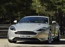 Фото авто Aston Martin DB9 1 поколение [2-й рестайлинг], ракурс: 45 цвет: бежевый
