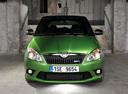 Фото авто Skoda Fabia 5J [рестайлинг],  цвет: зеленый