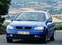 Фото авто Opel Astra G, ракурс: 45 цвет: синий